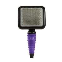 MGT ergonomic slicker brush large purple