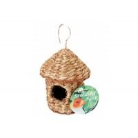 Finch Pagoda Twig nest 4'' DX 6'' H