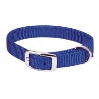 Blue large collar