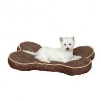 SP Suede bone bed sml chocolate