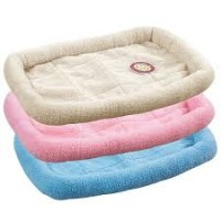 Sherpa crate bed 23.75x16.75 inch slate blue