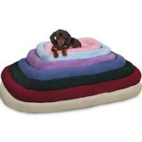 Sherpa crate bed 29.75x18.75 inch wine