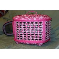 Curvations carrier sm pink abstract