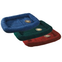 Sherpa crate bed 23.75x16.75 inch forest green